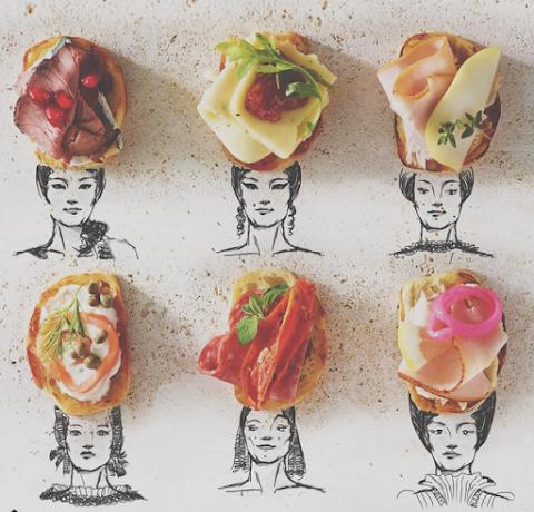 CULTURA DIGITAL 5 fascinantes cuentas de Instagram que combinan arte con comida | Zulma Saadoun
