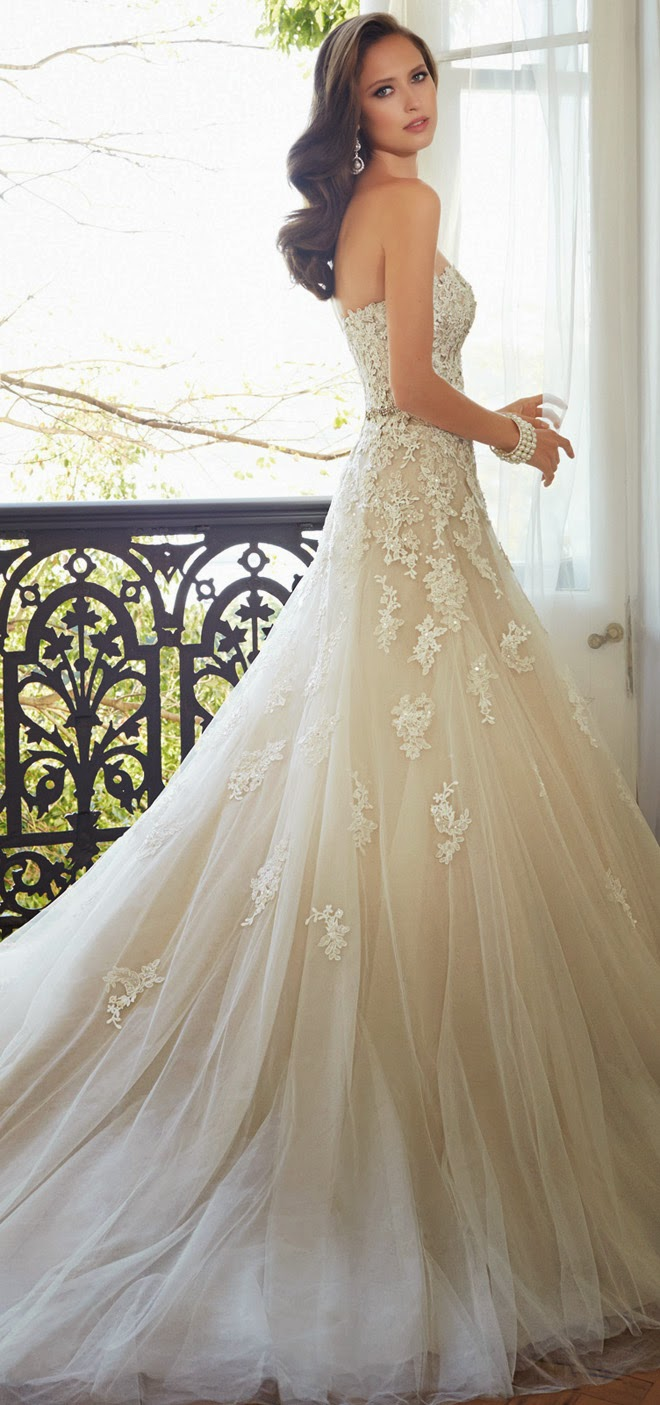 Sophia Tolli 2015 Bridal Collection - Belle The Magazine