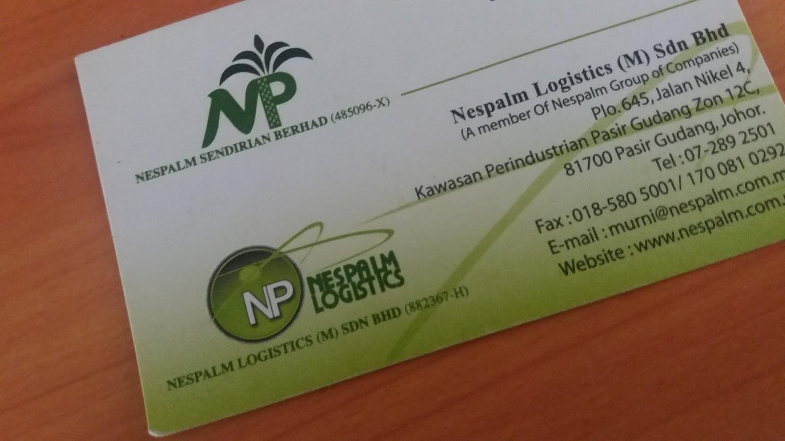 Nespalm Logistic Company