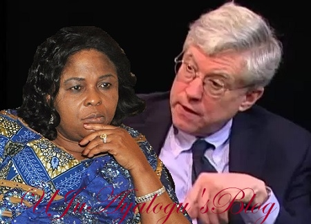 BOMBSHELL: Ex US Ambassador Queries Patience Jonathan Sudden Huge Wealth, Wonders Why She Is Not Jailed Yet