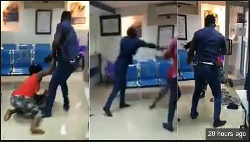 Outrage Over Police Officer Who Beat Up Woman Carrying Baby