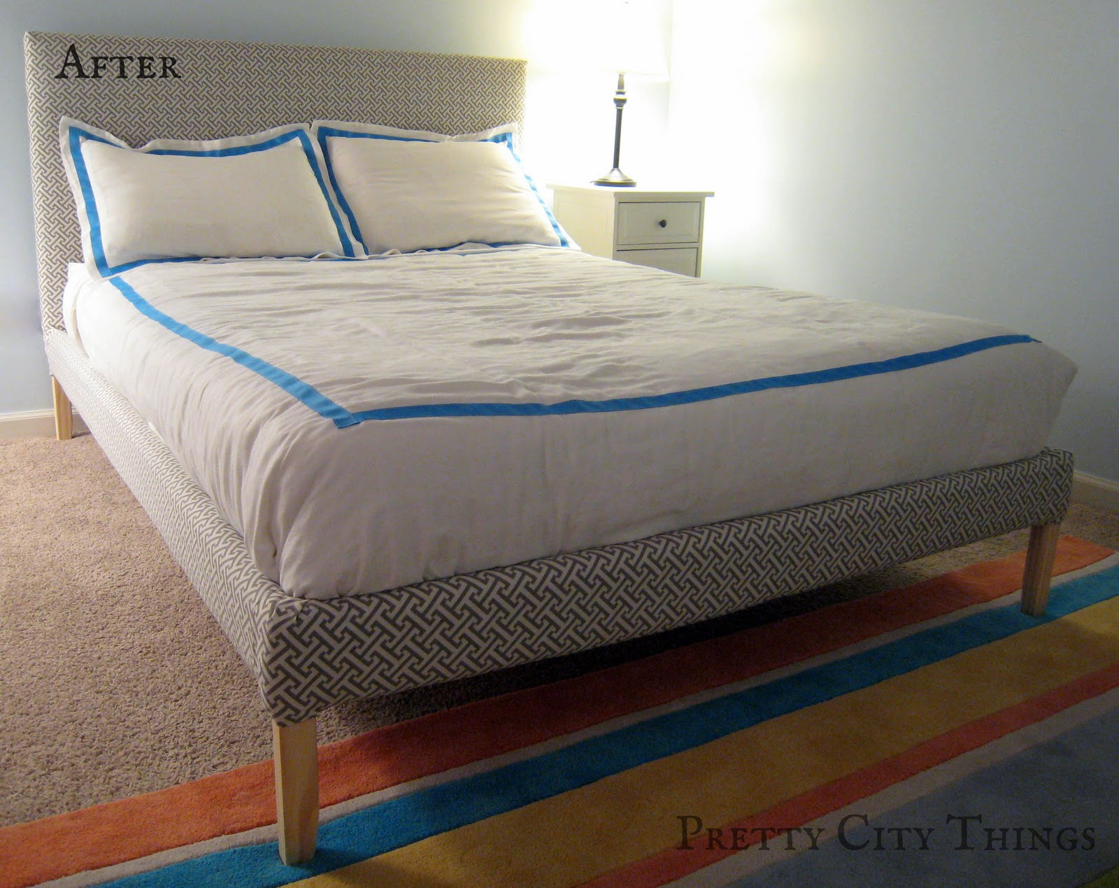 Update: DIY Upholstered Bed | Emmerson and Fifteenth