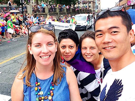 pride parade in halifax, nova scotia