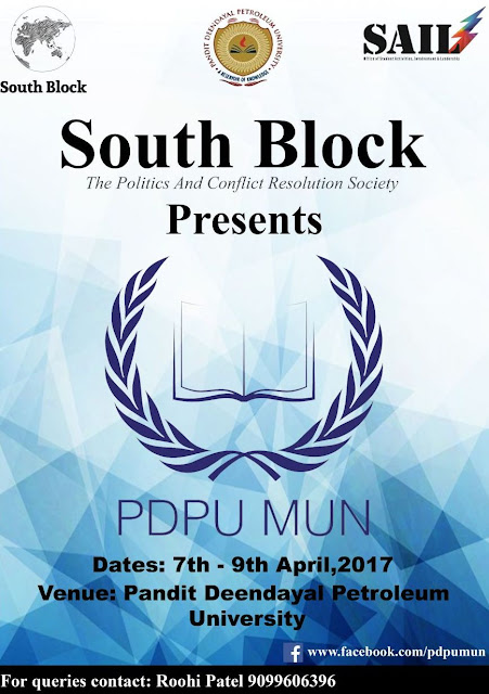 NEWS | PDPU Model United Nations Conference 2017