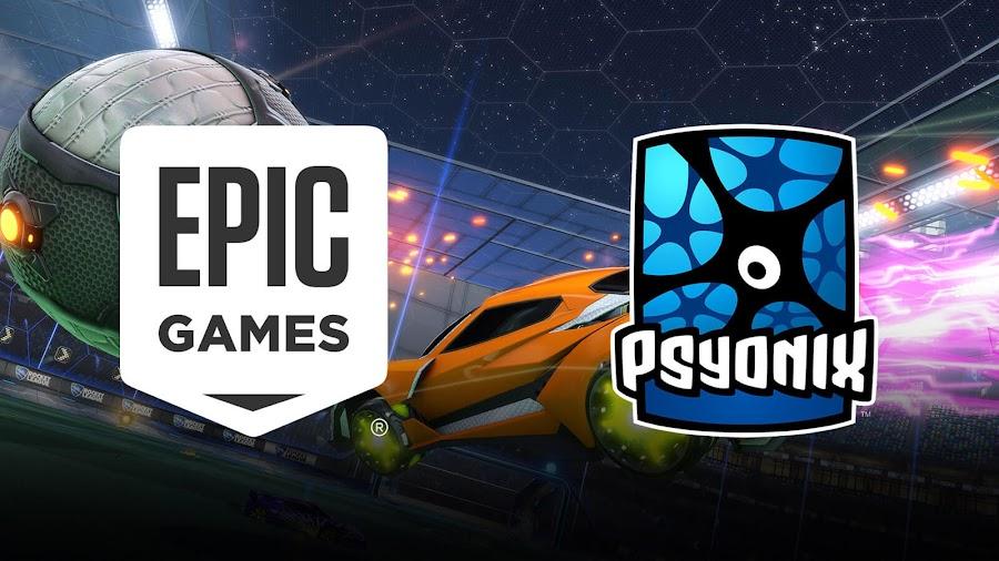 epic games buys rocket league psyonix