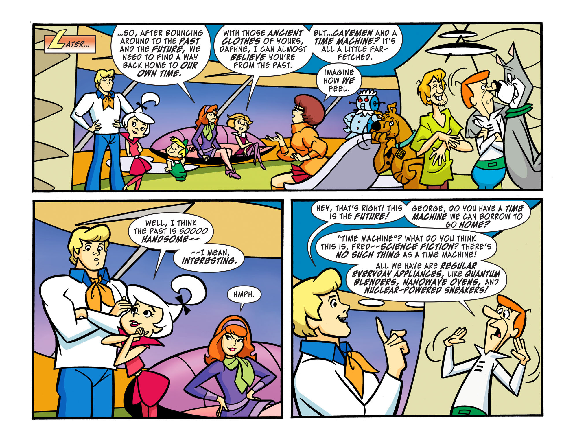 Read online Scooby-Doo! Team-Up comic -  Issue #15 - 9