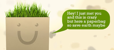 túi giấy tái chế thân thiện môi trường