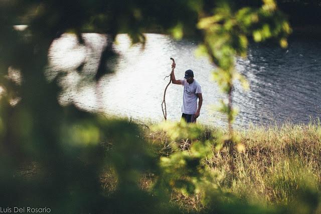Man by the lake - Laguna, Philippines
