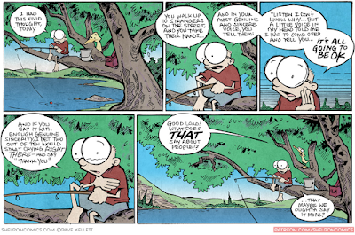 The Most Important Comic You Will Read Today (Hint: It's today's Sheldon)