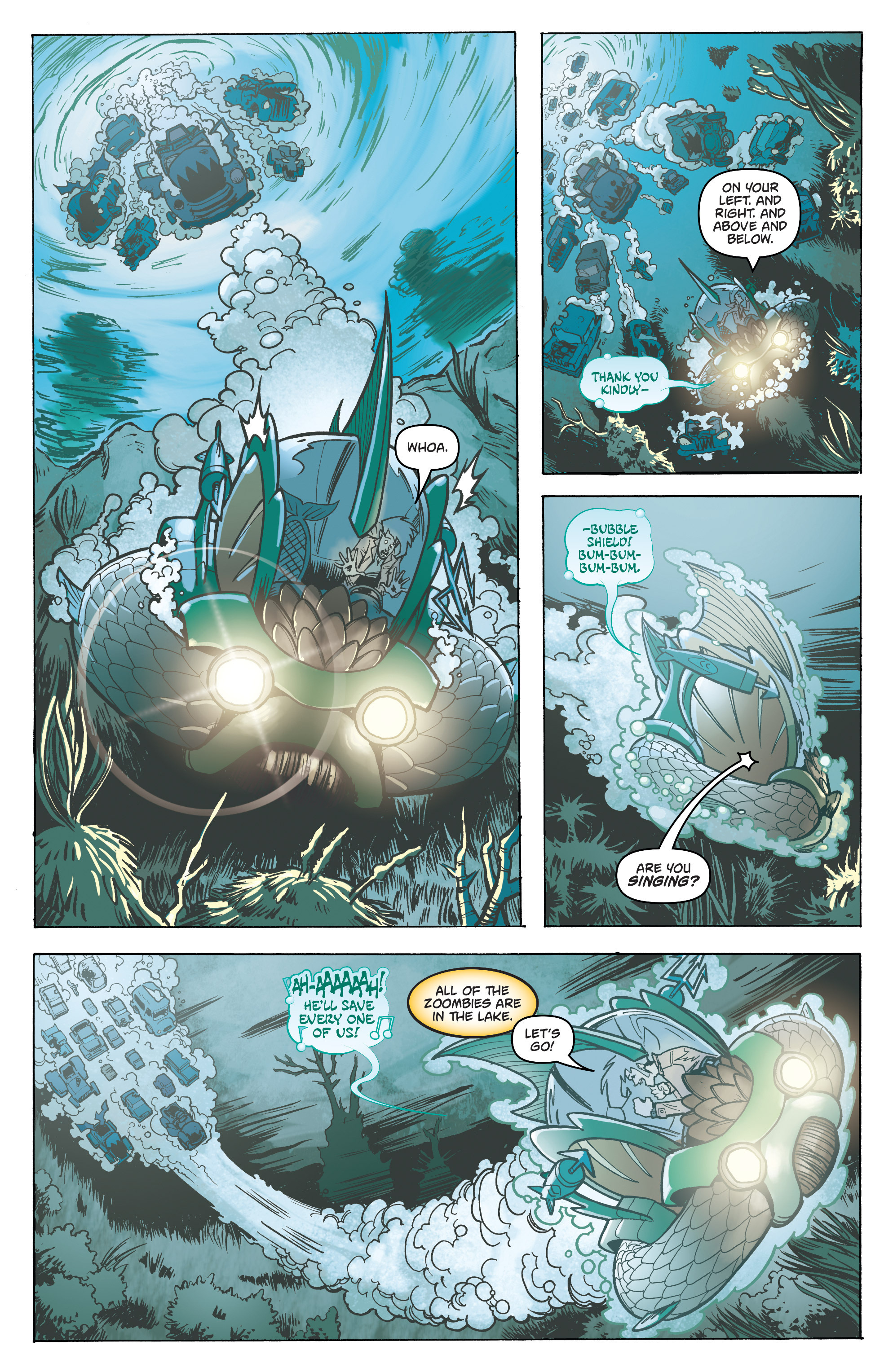 Read online Monster Motors: The Curse of Minivan Helsing comic -  Issue #2 - 19