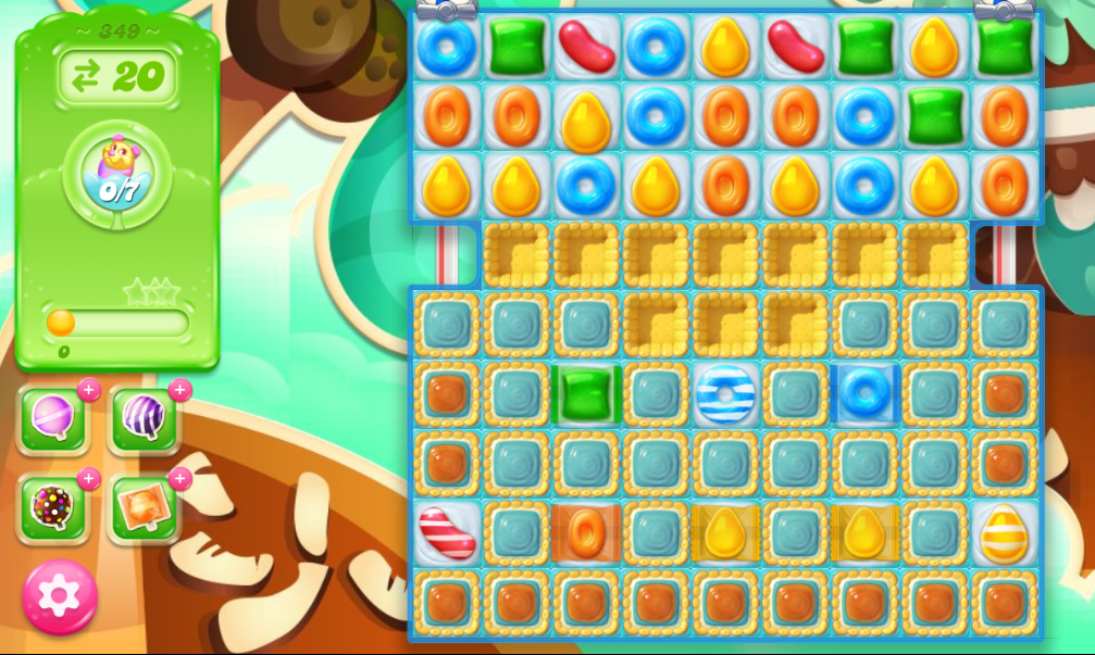 Candy Crush Jelly Saga 349