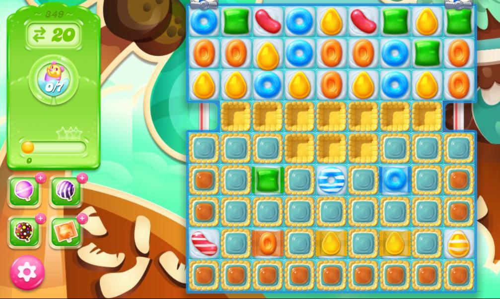Candy Crush Jelly Saga 349