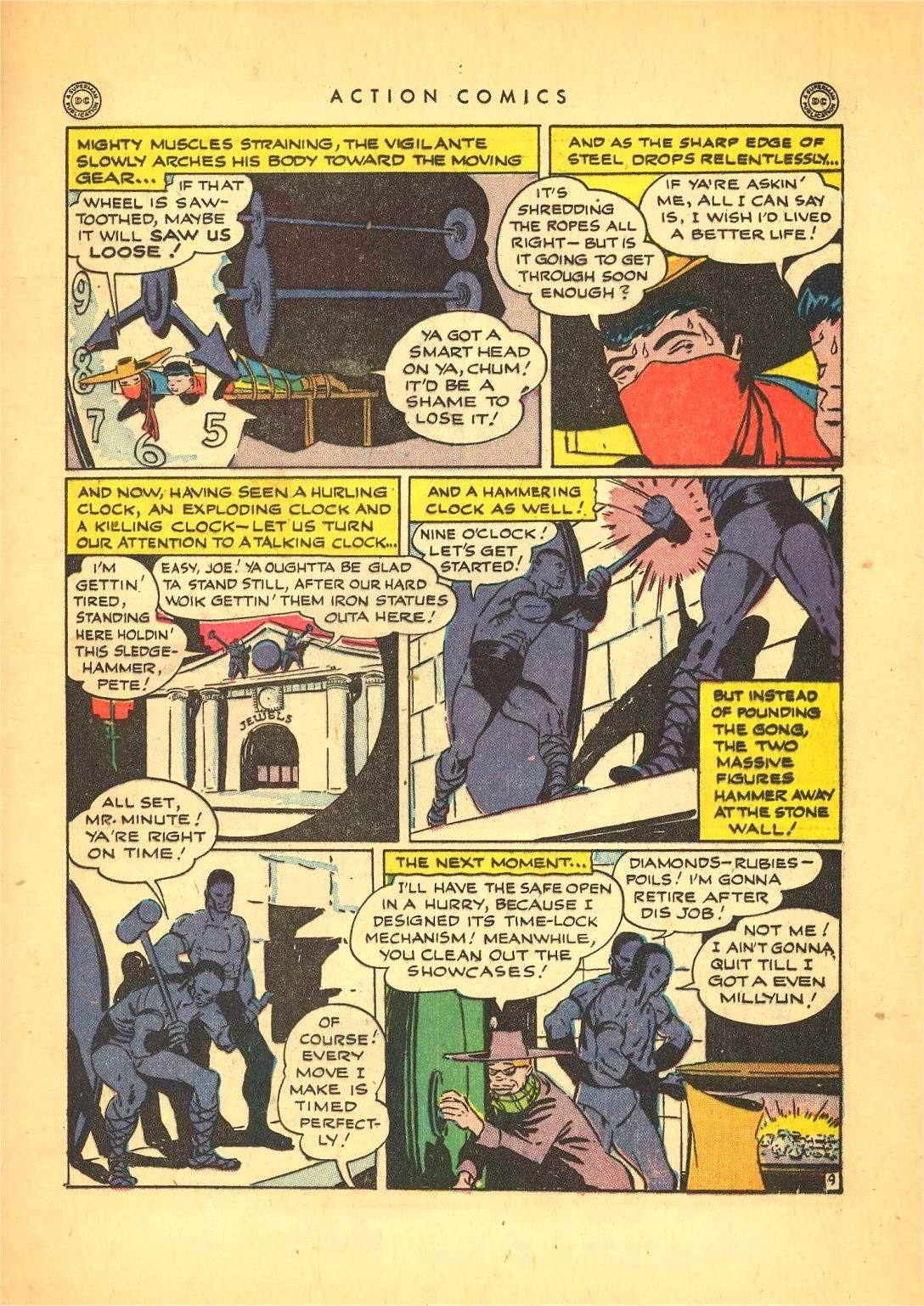 Read online Action Comics (1938) comic -  Issue #92 - 31