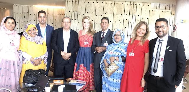 إفتتاح أشغال الدورة العادية ال38 لمجلس حقوق الإنسان الأممي بمشاركة وفد حقوقي صحراوي.