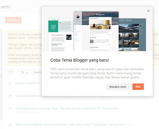 update template blogger