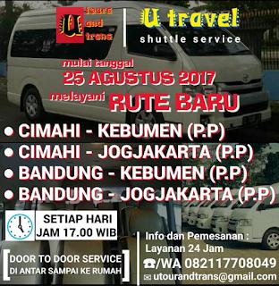 Travel Bandung Jogjakarta
