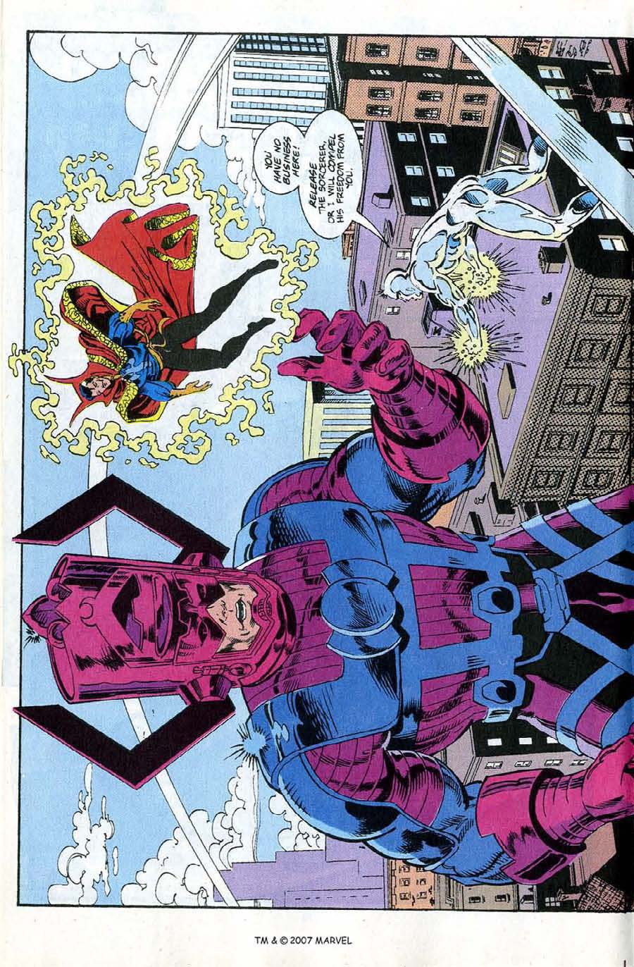 Read online Silver Surfer (1987) comic -  Issue #67 - 18