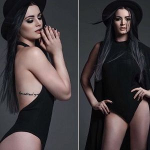 Foto Paige WWE paha mulus