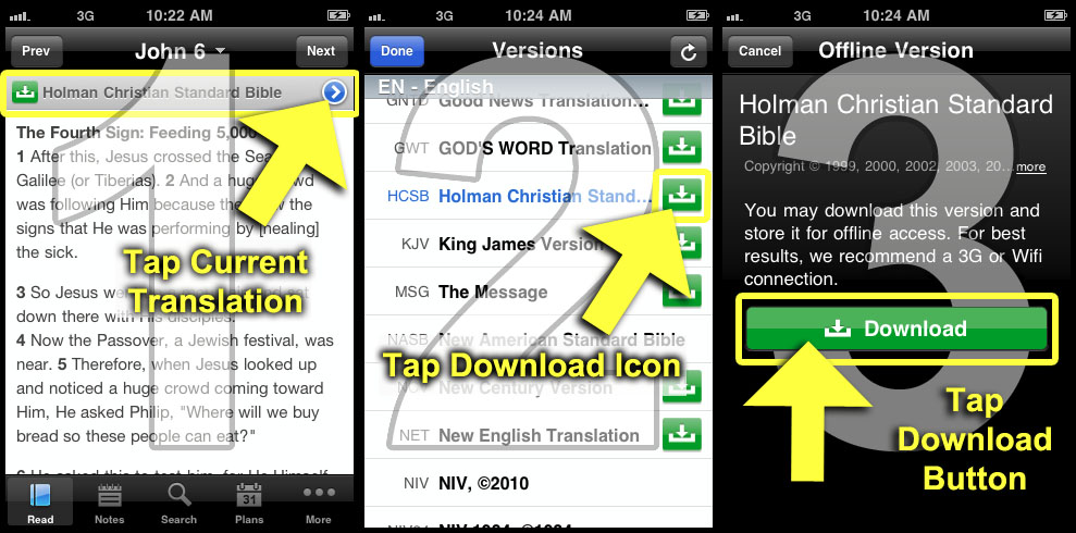 Download youversion bible app for android