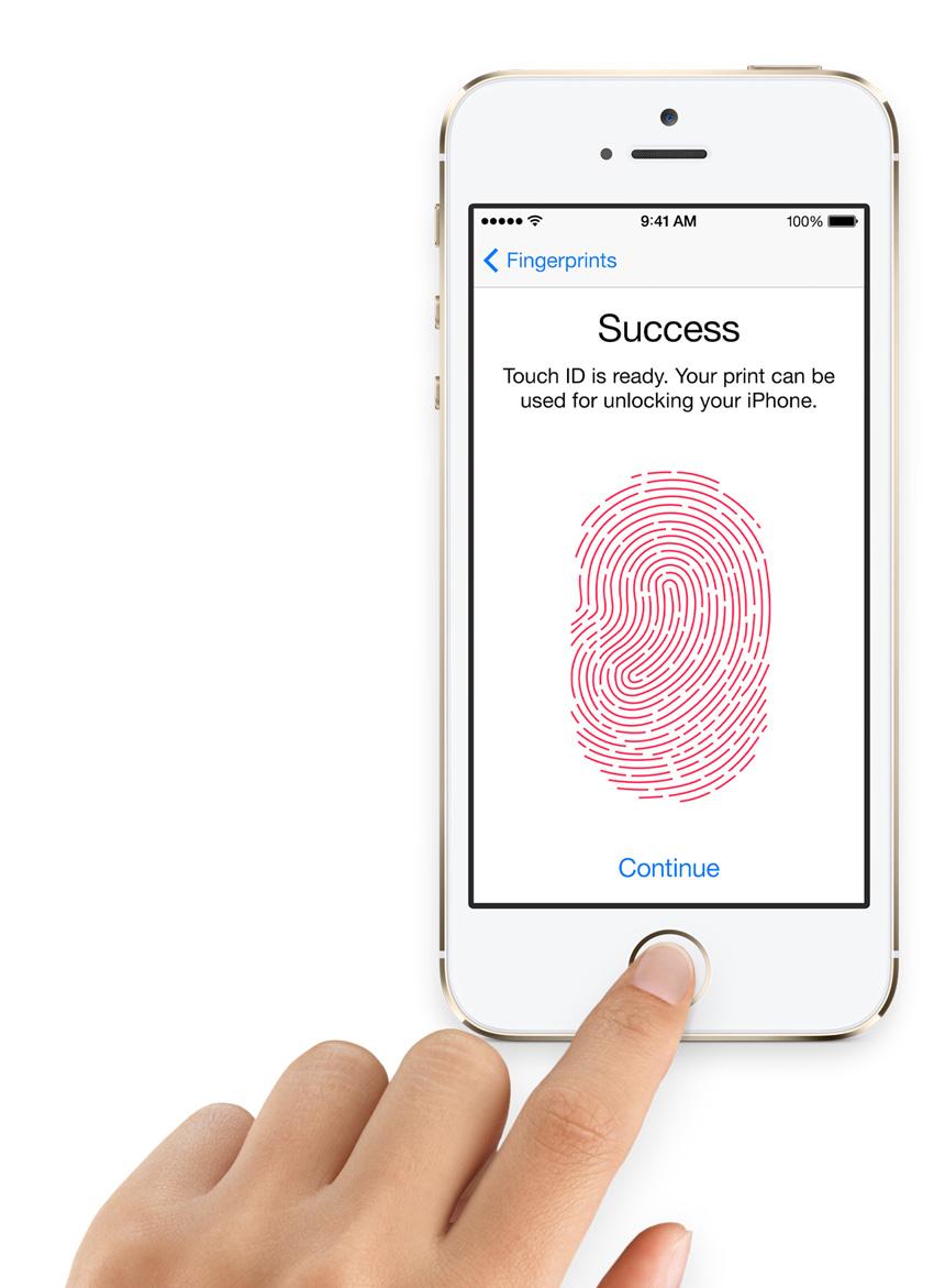 Touch ID - Fonte/Reprodução: Apple