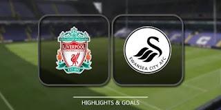 Liverpool vs Swansea City premier league match highlight