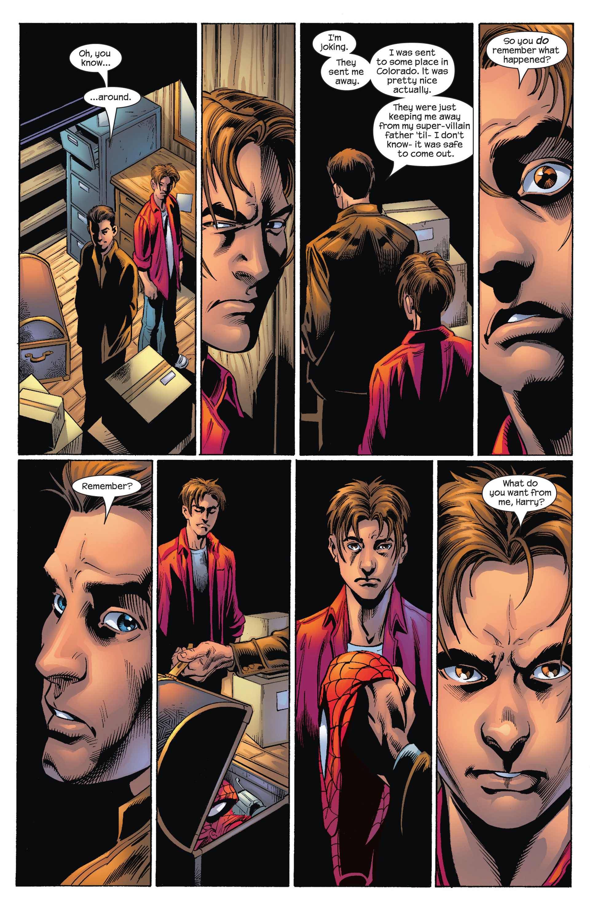 Read online Ultimate Spider-Man (2000) comic -  Issue #72 - 21