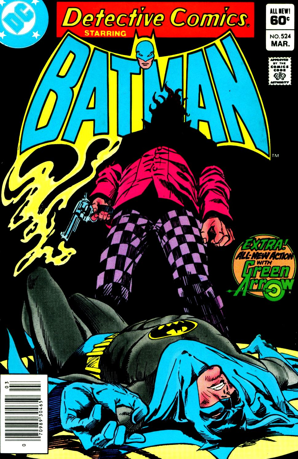 Detective Comics (1937) 524 Page 1