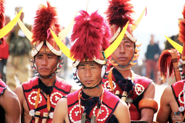 Yimchunger Naga Men Traditional Attires