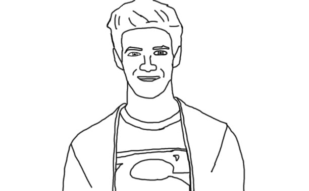 Haley : Celebrity Coloring Book Page