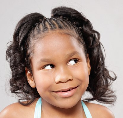 African American Girl Child Hairstyle Ideas