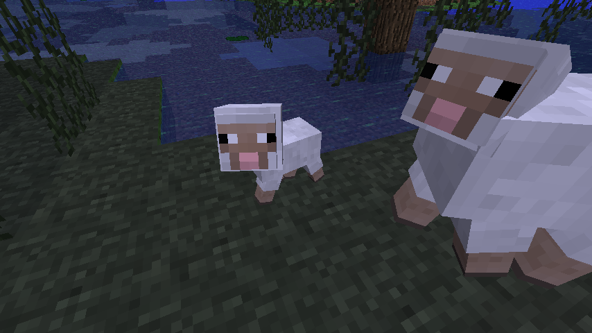 How to make a baby sheep in minecraft