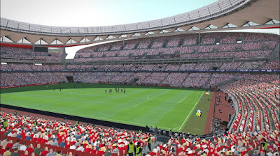 PES 2017 Wanda Metropolitano Converted from PES 2018 by MjTs-140914