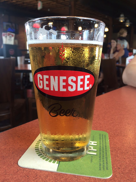 Beer at the Genesee Brew House, Rochester, NY, USA