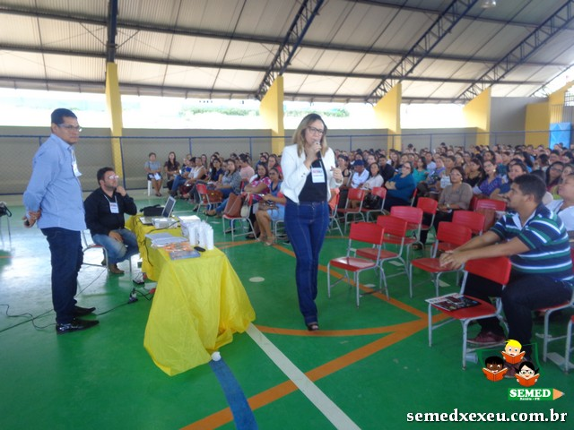 Formação de professores em Xexéu