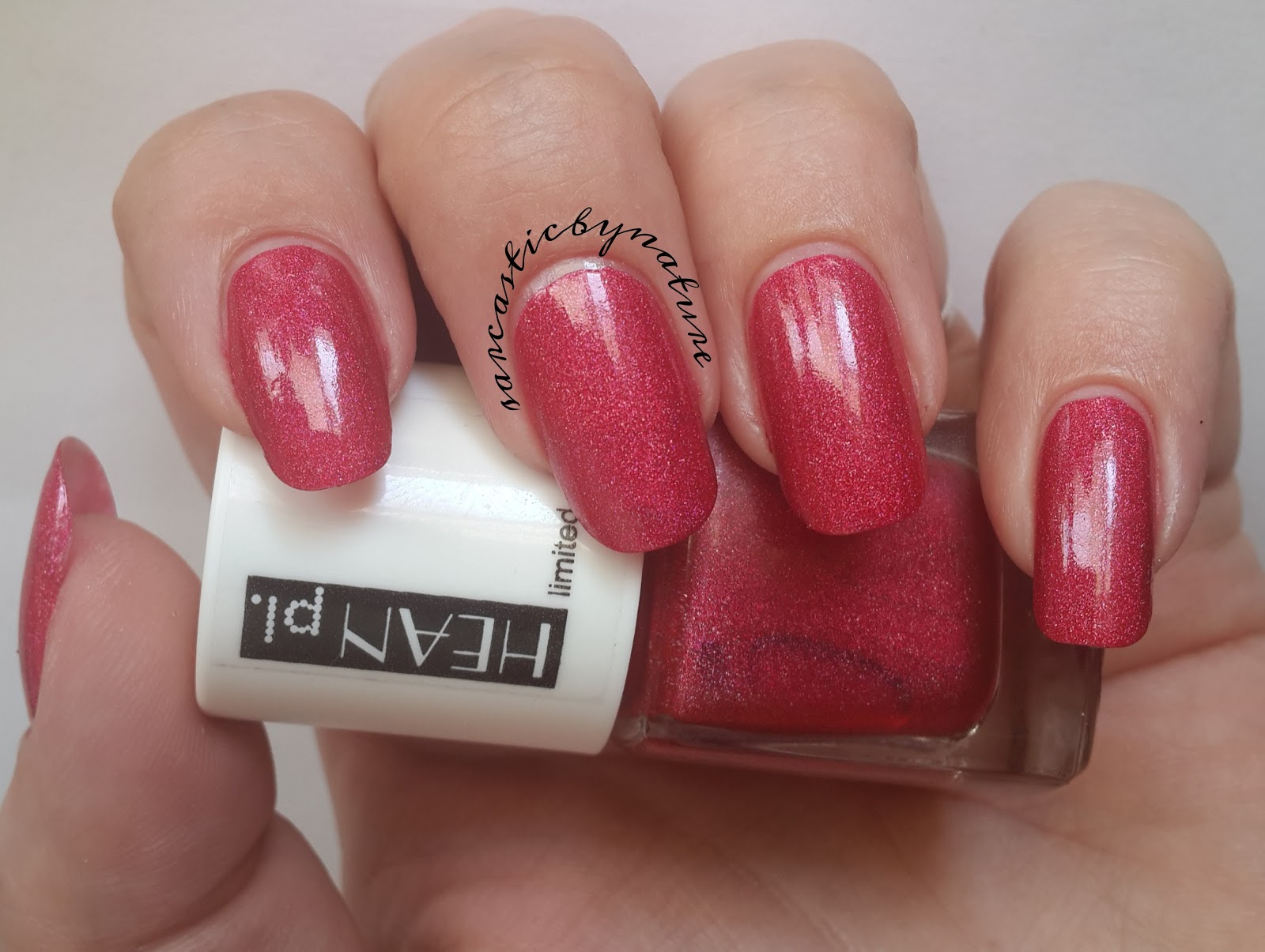 Sarcastic By Nature: Hean nail polish #274 - Jungle Pop Collection