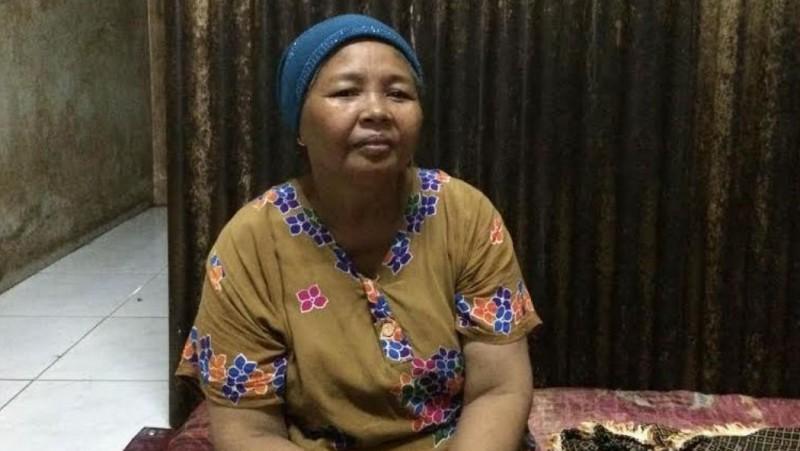 Saeni, ibu penjual Warteg yang dirazia Satpol PP