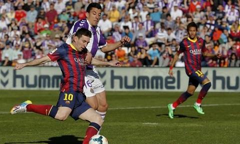 Valladolid 1-0 Barcelona: Barca thi đấu nhạt nhòa