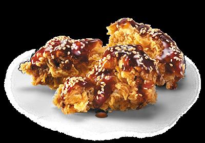 Крылья «Терияки» в КФС, Крылья «Терияки» в KFC, Крылья «Терияки» состав цена стоимость пищевая ценность 2017
