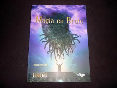 Reseña: Magia en Bruto para El Rastro de Cthulhu (EDGE)