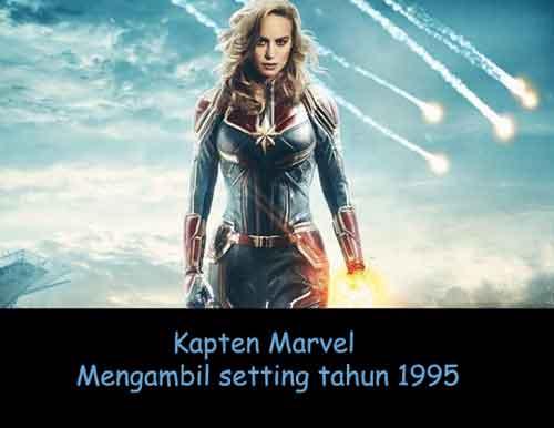 Kapten Marvel setting tahun 1995