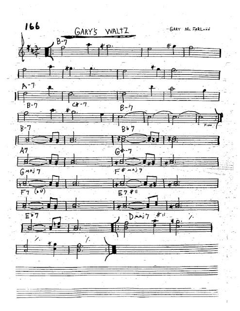 Partitura Trompeta Gary Mcfarland