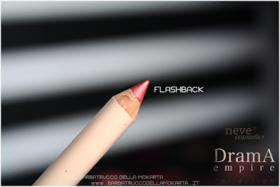 FLASHBACK review Bio Pastello Labbra drama empire collection neve cosmetics