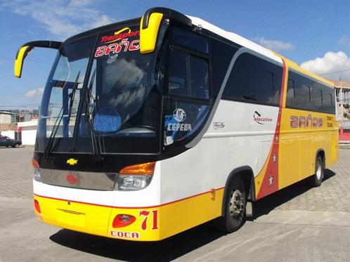 Cooperativa de Transporte Baños en Quito