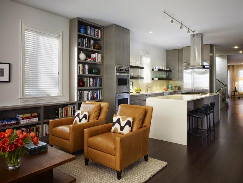C mo dividir una cocina de la sala colores en casa for Cocina y sala juntas