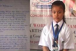 Gadis 8 Tahun Ini Disebut Punya Tulisan Tangan Tercantik Sedunia, Lihat Deh Tulisannya, Keren Abis!