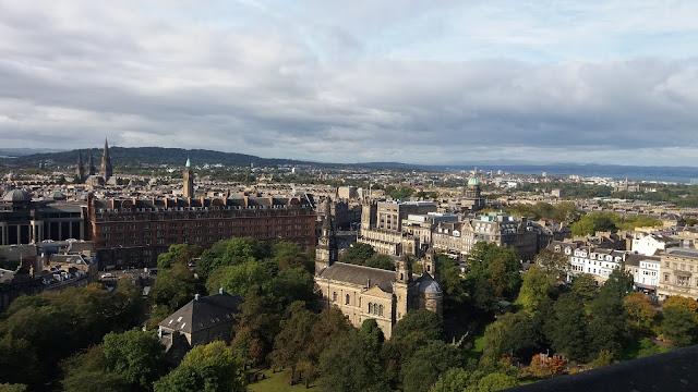 Panorama dal Castello di Edimburgo - Get in Globe