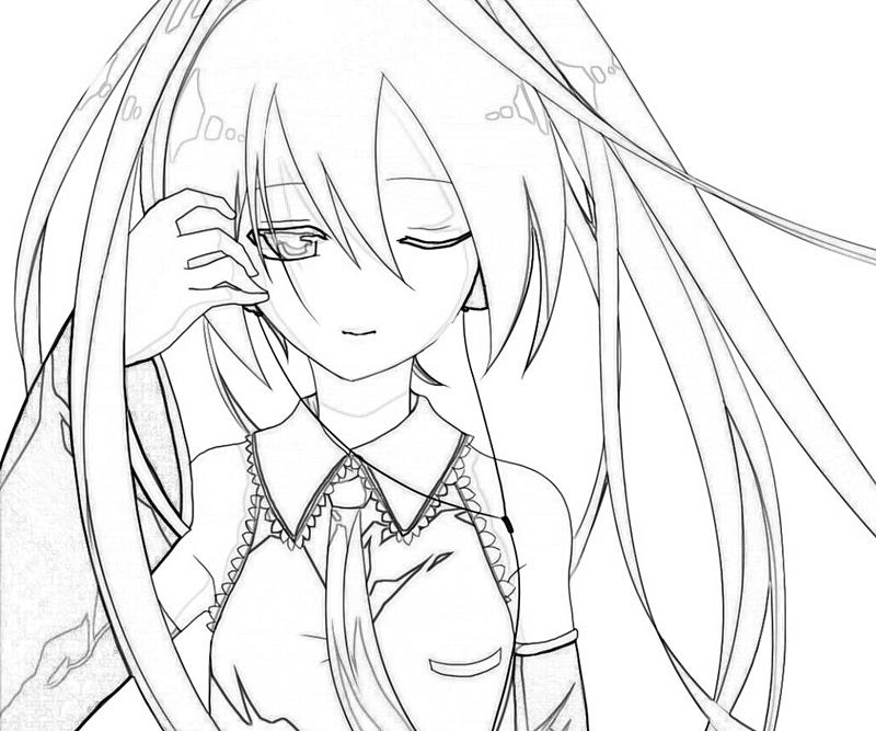hatsune miku coloring pages Hatsune Miku Project Hatsune Miku Style | How Coloring hatsune miku coloring pages