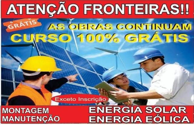 FRONTEIRAS (PI) - CURSO GRATUITO COM VAGAS LIMITADAS