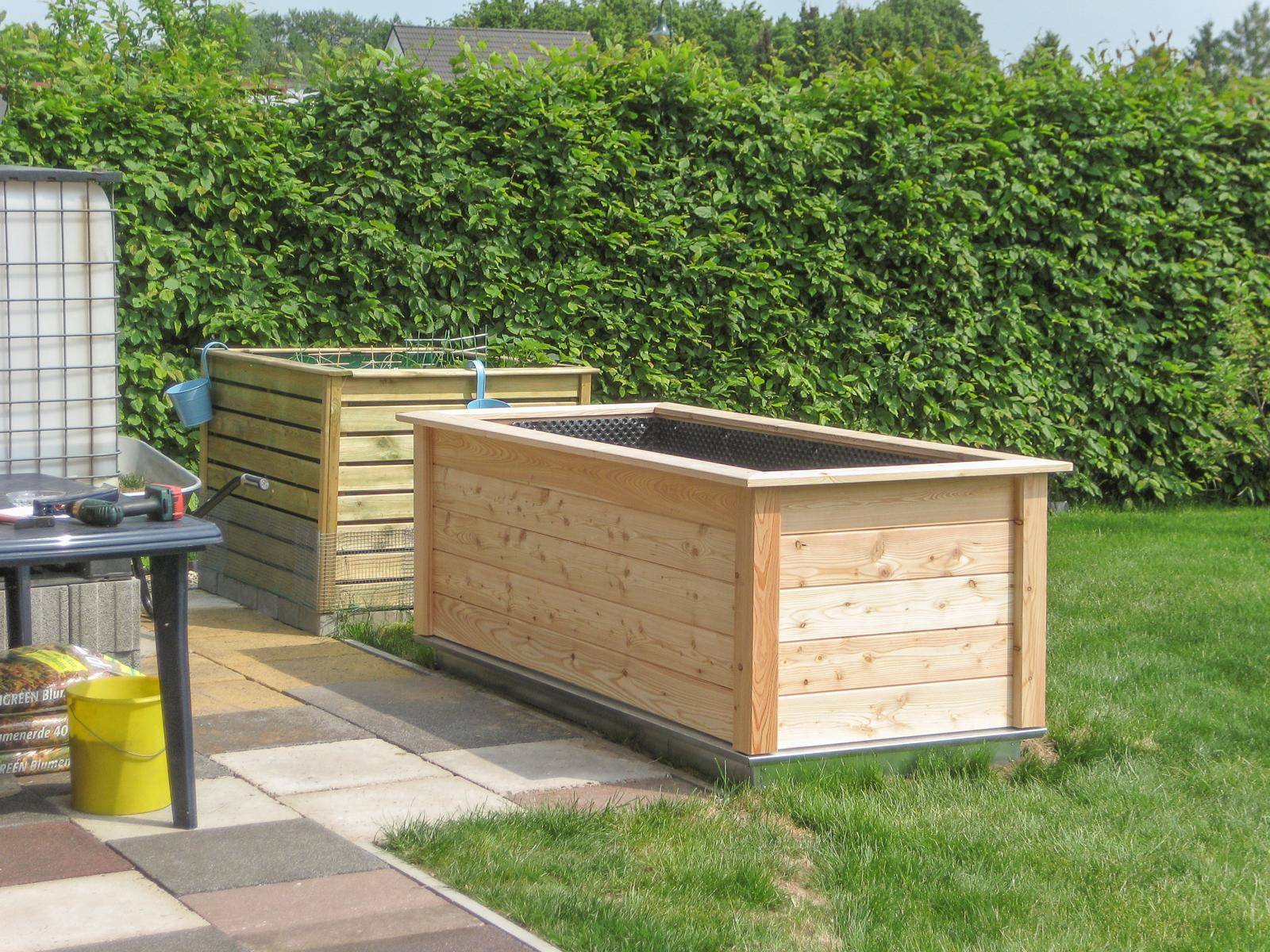 Baublog Von Susi Und Sven Neues Hochbeet Bilder Aus Dem Garten