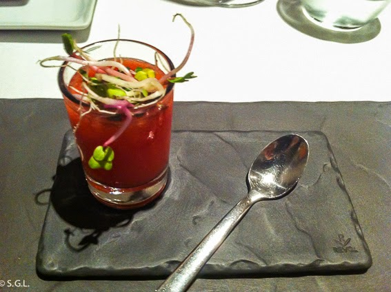 Bloody Mary del Restaurante Osmosis Barcelona